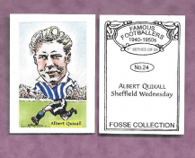 Sheffield Wednesday Albert Quixall 24 (FC)